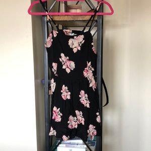 urban outfitter floral romper